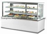 Torta de exhibición comercial Vitrina Refrigerador con CE