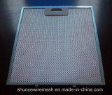 アルミニウムまたは亜鉛めっきの/Stainlessの鋼鉄バッフルのグリースフィルター