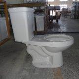 고능률 둥근 2 조각 화장실