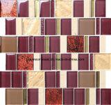 Mosaico material de cristal del estilo de lujo con 305*305*8m m