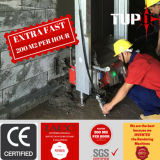 機械を塗るか、または機械または壁のスプレーをするTupoの自動壁または乳鉢は機械か石灰またはセメント卵巣摘出する