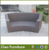 Sofà esterno del PE del rattan della mobilia sintetica del giardino