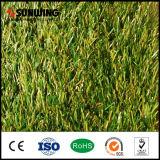 U Shape Green Artificial Turf Tiles für Garten