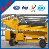 Véhicule d'abattage hydraulique pour l'or