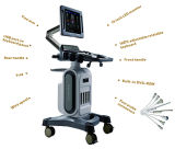 병원을%s 트롤리 4D 색깔 도풀러 가장 싼 Ultrasoud 기계
