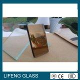 Stark beschichtetes dunkelgrünes reflektierendes Glas