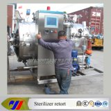 PLC Control Water Spray Retort Sterilizer für Glass Bottle