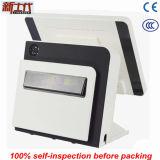 Белый электронный кассовый аппарат с принтером получения