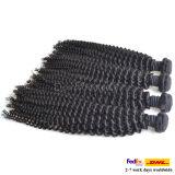 Оптовые волосы девственницы курчавых волос перуанские людские