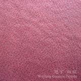 Tessuti di Chammy della lanugine della pelle scamosciata di Microfiber con il trattamento dell'oro della stagnola