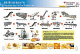 Constructeur de machines de transformation des produits alimentaires de pommes chips à échelle réduite