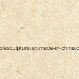 床の装飾(SY-MS002)のための石造りの彫刻のベージュ大理石の平板