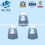粉砕機または機械化の部分のための高い硬度の鋼鉄ハンマー