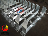 Belt Conveyor、Steel Carry Roller Set、Conveyor Roller IdlerのためのSPD Trough Roller