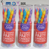 Neuer Art-Geburtstag-dekorative Kegelzapfen-Kerze