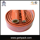 Высокотемпературное Siliconer Ubber Firesleeve для защищает проводы и кабели