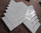 Neues Herringbone Mosaik-, Mosaik-Fliese-und Marmormosaik