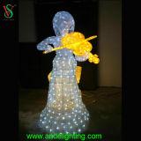 Decoração do Natal da luz de Natal do diodo emissor de luz