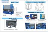 Buigende Machine Wc67k-100t/4000 van de Rem van de Pers van China de Hydraulische