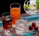 Опарника каменщика чашки питья способа стеклоизделие стеклянного ежедневное для мебели кухни