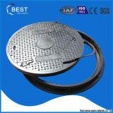 En124 FRP SMC BMC 합성 원형 맨홀 뚜껑
