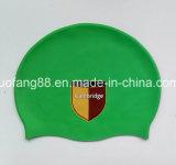 Chapeaux de natation de silicium de qualité avec l'impression de logo