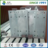 Uso de la viga de acero de H para hacer el marco de acero