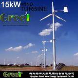 De horizontale die Turbine van de Wind van de As 15kw voor Voorstad wordt gebruikt