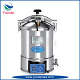 Sterilizer portátil cheio do vapor do aço inoxidável