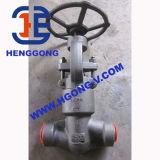 API/DIN ha forgiato la valvola di globo saldata A105 d'acciaio di alta pressione