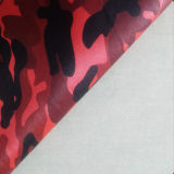 Garment를 위한 Camouflage 착용할 수 있는 Pattern PU Faux Leather