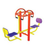 Duplo Sentado Outdoor Fitness Equipment Exercrise (HD-12005)