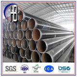 Tubo de acero revestido de epoxy espiral revestido del PE caliente de la venta