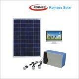 панель солнечных батарей Home Solar System 80W PV Panel с CE Inmetro Idcol Soncap Certificate IEC Mcs TUV