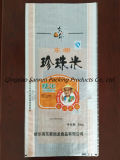 transparenter BOPP lamellierter pp. gesponnener Beutel 25kg für Reis