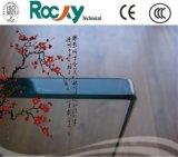 8mm clairs/bronze/bleu/vert/verre trempé gris avec Holes&Grooves