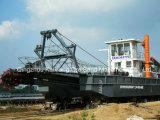 강 청소를 위한 CSD-250 준설선
