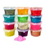 Solo de cristal dos artigos de papelaria da cor de China Slime mágico da lama do bom