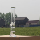 Goode Glas 2016 neues Designbest, das grüne Farben-Glaspfeife Withwater Rohr verkauft