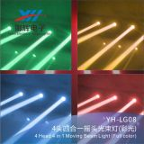 RGBW 4 dans 1 tête mobile principale de la lumière 4 de barre d'étape de faisceau de DEL