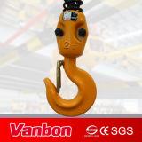 tipo grua Chain elétrica do trole da velocidade da grua 1.5ton Chain único