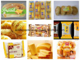 Fatto in macchina per l'imballaggio delle merci del pane del rullo automatico del cuscino della macchina imballatrice del pane della Cina piccola