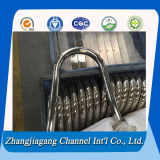 201 Polished Stainless Steel Bend Tubes para Handrail