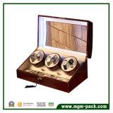 Rectángulo 2017 de reloj de madera calificado del precio de fábrica