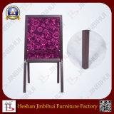 Cadeira roxa do hotel do restaurante (BH-FM8014)