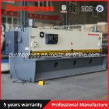 Machine de tonte de massicot hydraulique en acier du fer QC11k-10X4000