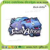 Ímãs Eco-Friendly do refrigerador para os presentes de borracha do PVC de África do Sul (RC-SA)