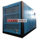 Compresseur d'air rotatoire de vis à haute pression de rotors de refroidissement à l'air
