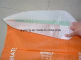 砂のセメントのパテの建築材料のためのオフセット印刷PPによって編まれる袋