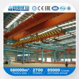 Doppelter Träger-rotierender Laufkatze-elektromagnetischer Brückenkran mit niedrigem Preis
